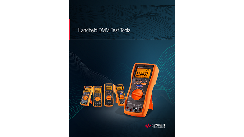 Handheld DMM Test Tools