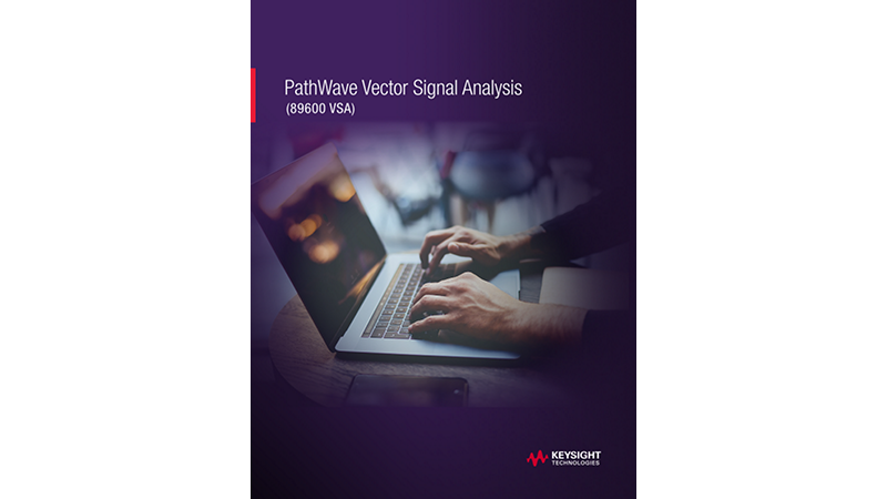 PathWave Vector Signal Analysis (89600 VSA)
