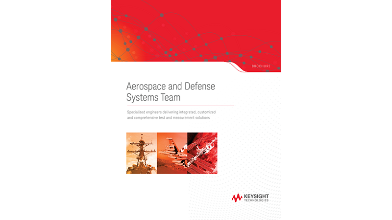 Aerospace and Defense Systems Team