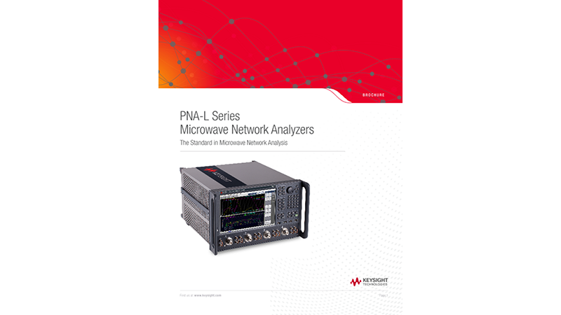 PNA-L Series Microwave Network Analyzers
