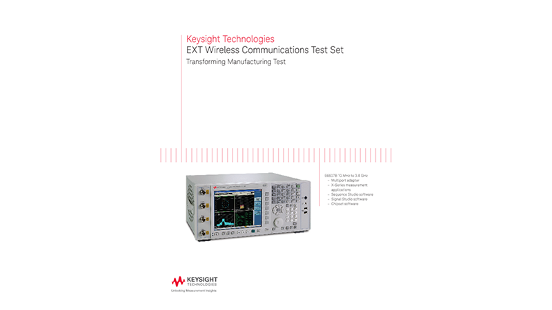 EXT Wireless Communications Test Set