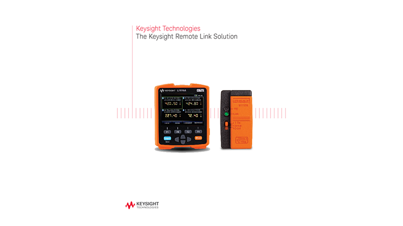 The Keysight Remote Link Solution