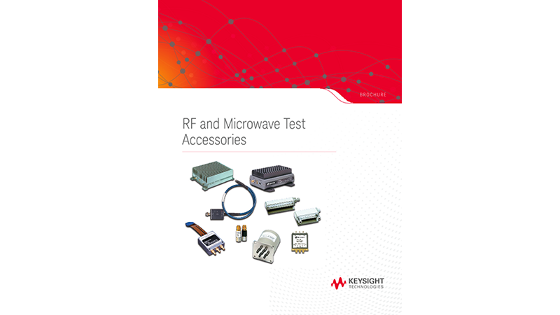 RF and Microwave Test Accessories