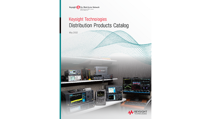 Keysight Distribution Products Catalog November 2020