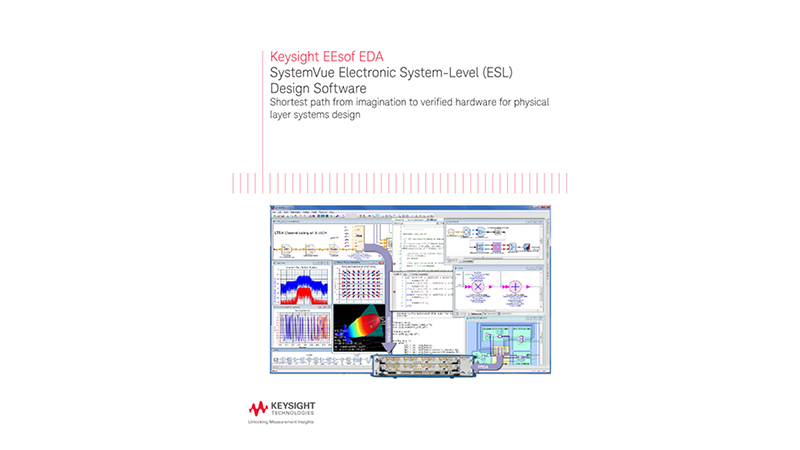 SystemVue Electronic System-Level (ESL) Design Software