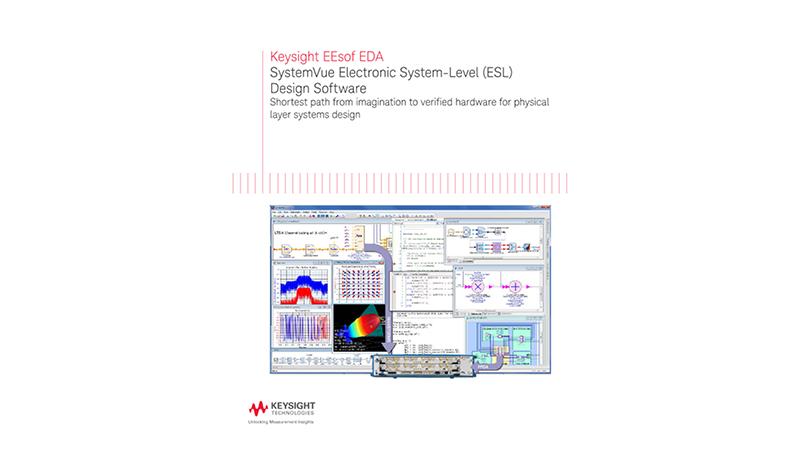 SystemVue Electronic System-Level (ESL) Design Software