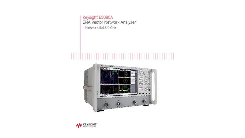E5080A ENA Vector Network Analyzer