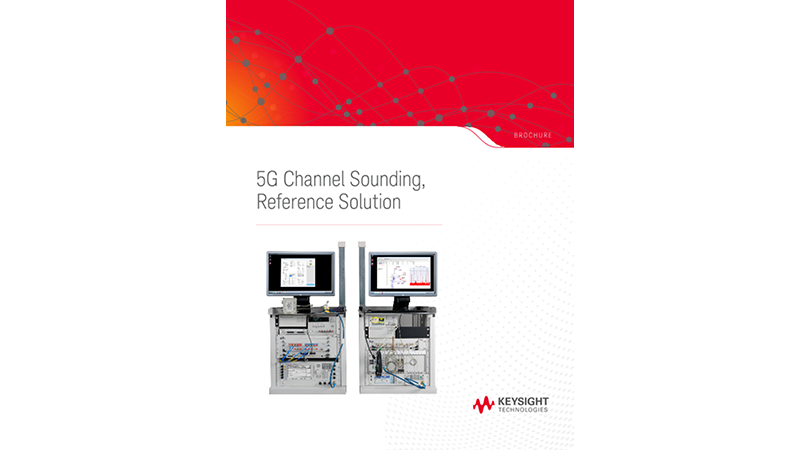 5G Channel Sounding Reference Solution