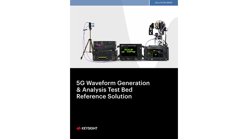 5G Waveform Generation & Analysis Testbed, Reference Solution