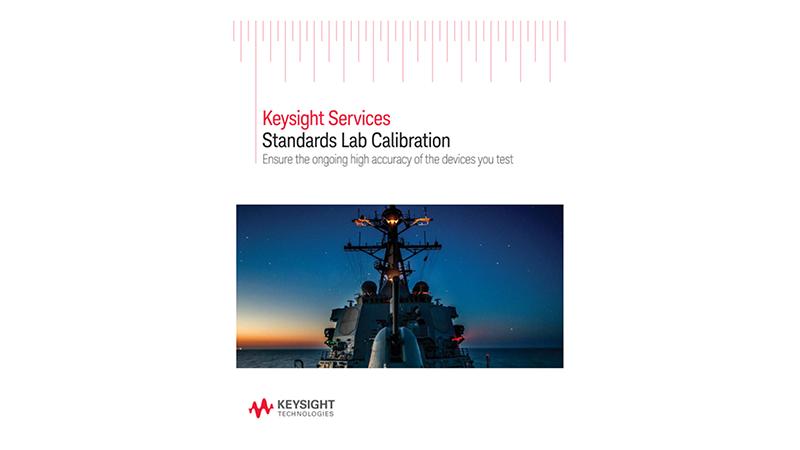 Services Standards Lab Calibration