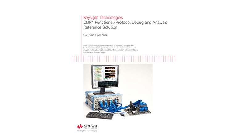 DDR4 Functional/Protocol Debug and Analysis Reference Solution