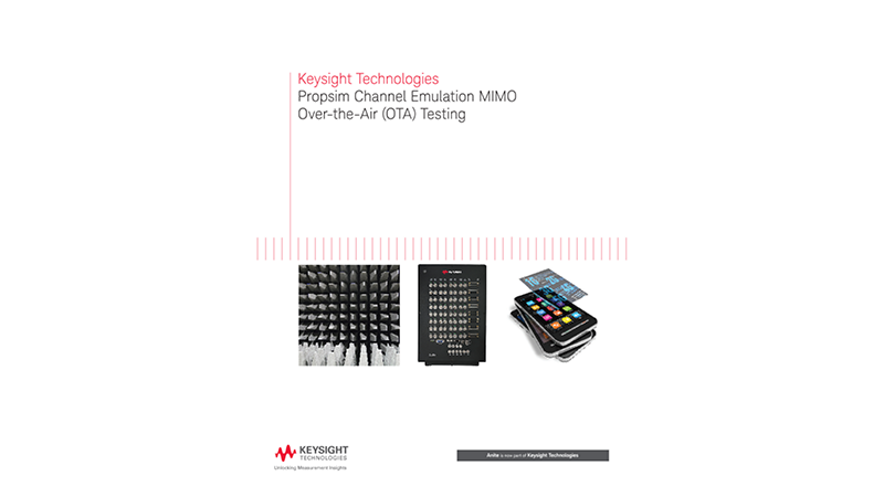 Propsim Channel Emulation MIMO Over-the-Air (OTA) Testing