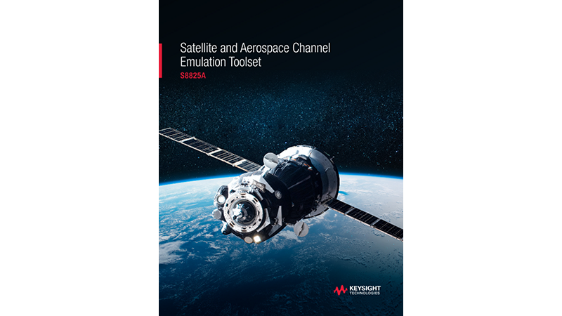 S8825A Satellite and Aerospace Channel Emulation Toolset