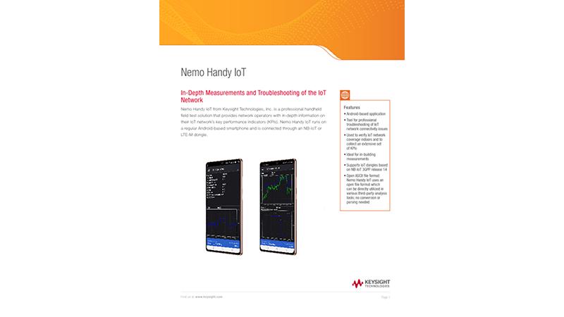Nemo Handy IoT Brochure