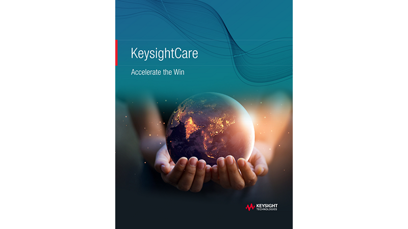 KeysightCare Accelerate the Win