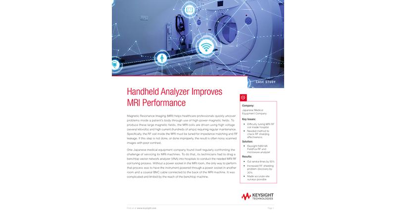 Handheld Analyzer Improves MRI Performance