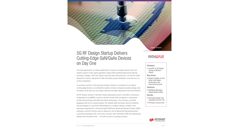 5G RF Design Startup Delivers Cutting-Edge GaN / GaAs Devices