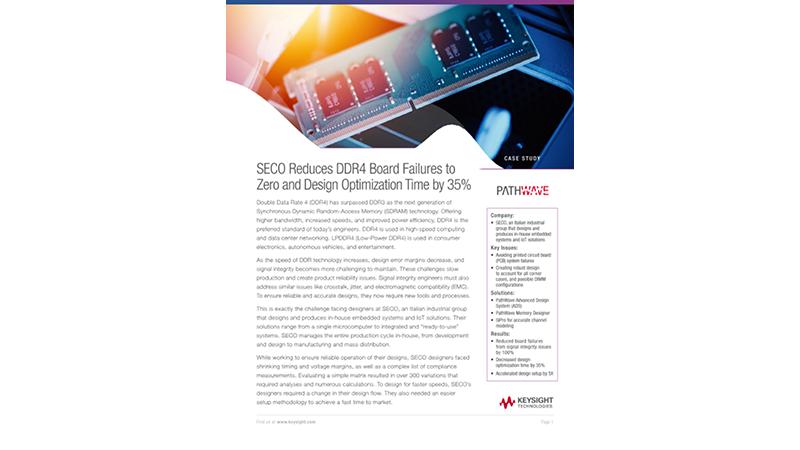 SECO Reduces DDR4 Board Failures to Zero