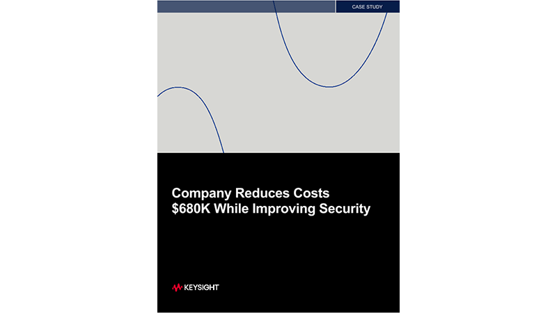 Company Reduces Costs $680K While Improving Security