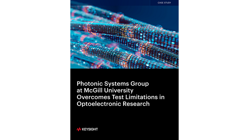 Photonic Systems Group at McGill University Overcomes Test Limitations in Optoelectronic Research