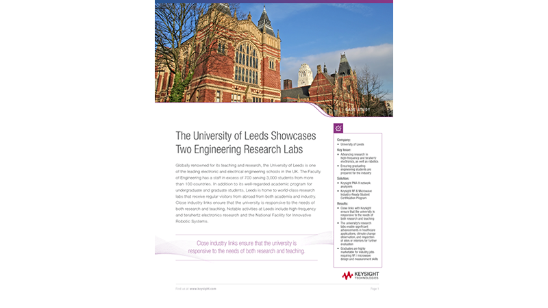 The University of Leeds Showcases Two Engineering Research Labs