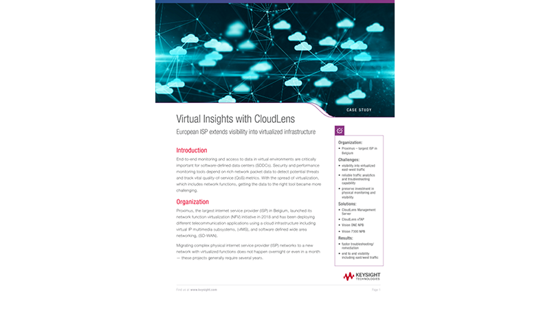 Virtual Insights with CloudLens