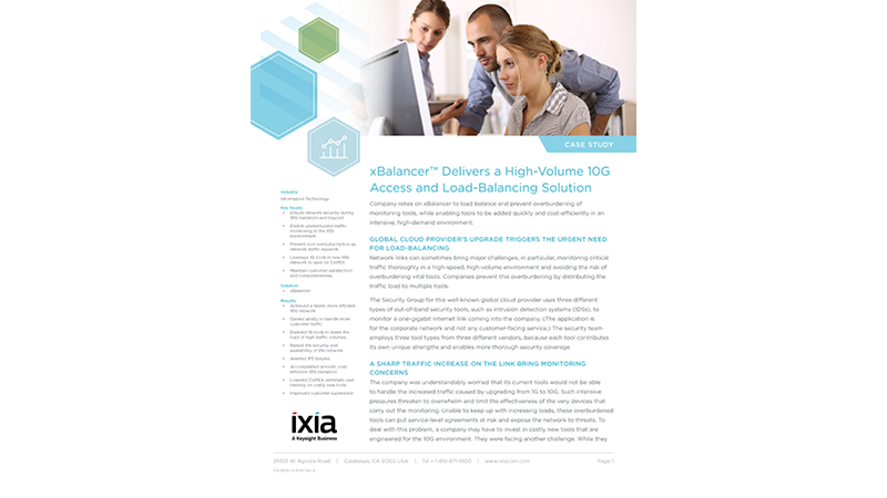 Cloud Provider Improves Security and Visibility Without Overtaxing Tools