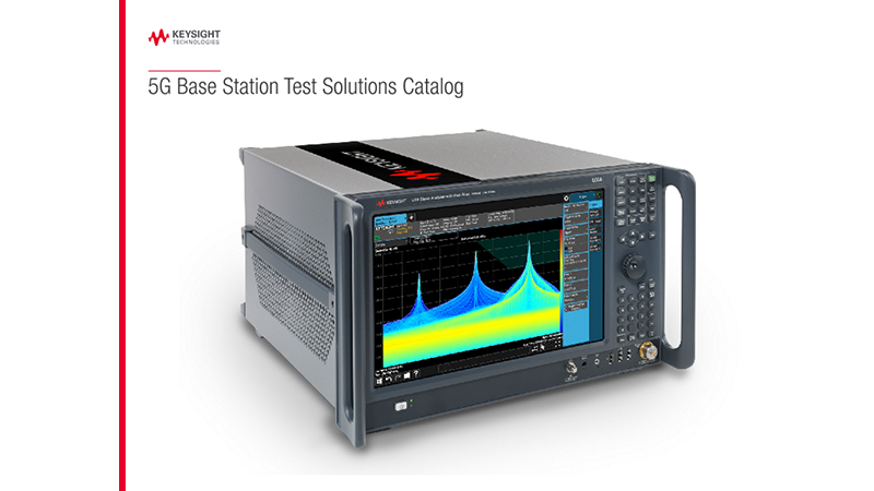 5G Base Station Test Solutions Catalog