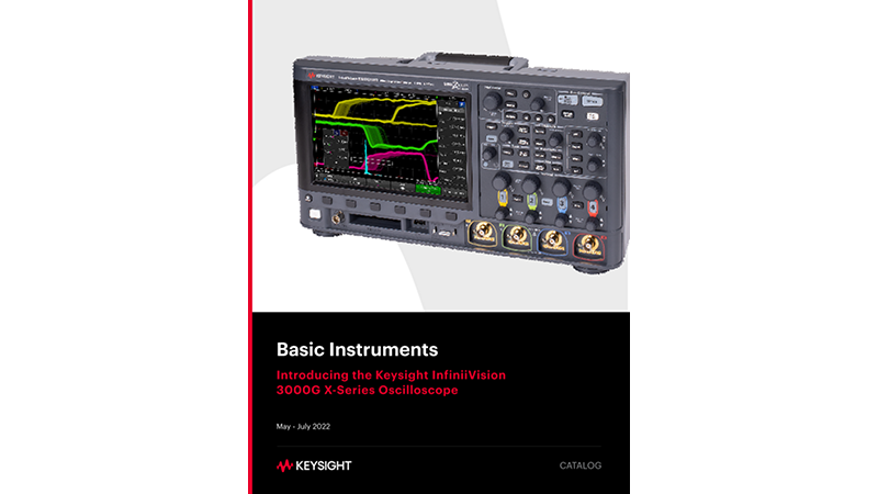 Keysight Basic Instruments March 2021