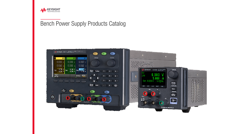 Bench Power Supply Products Catalog