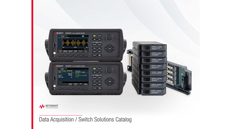 Data Acquisition / Switch Solutions Catalog