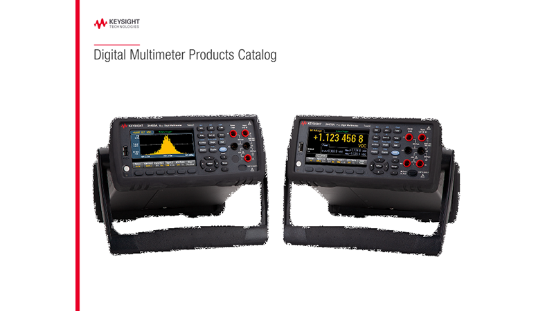 Digital Multimeter Products Catalog