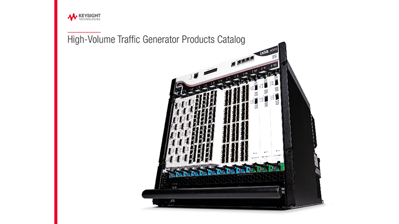 High-Volume Traffic Generator Products Catalog