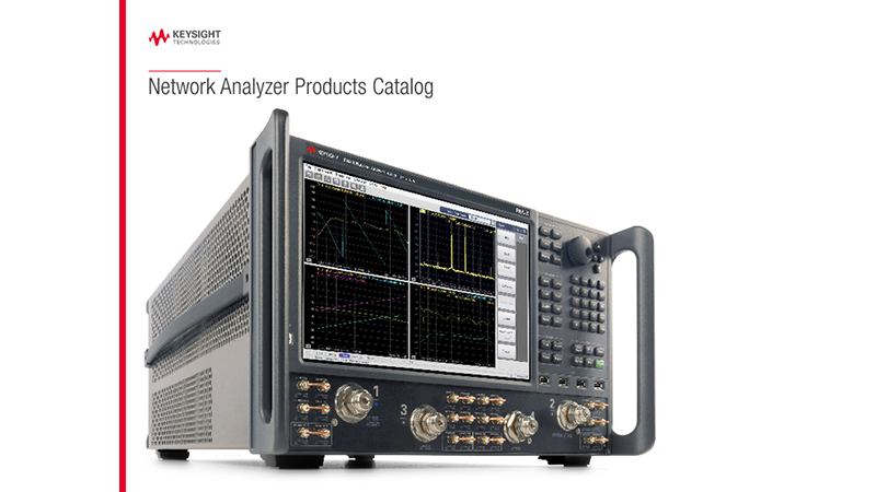 Network Analyzer Products Catalog