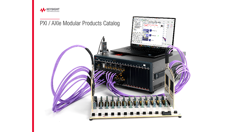 PXI / AXIe Modular Products Catalog