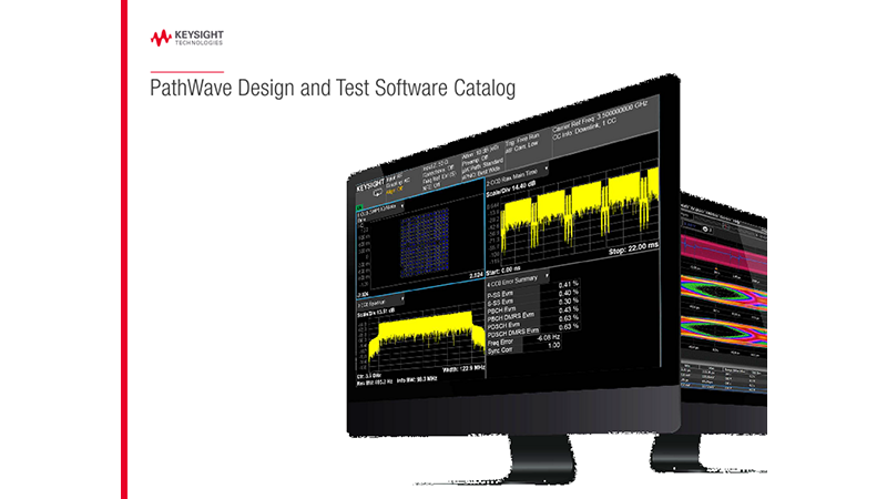 PathWave Design and Test Software Catalog