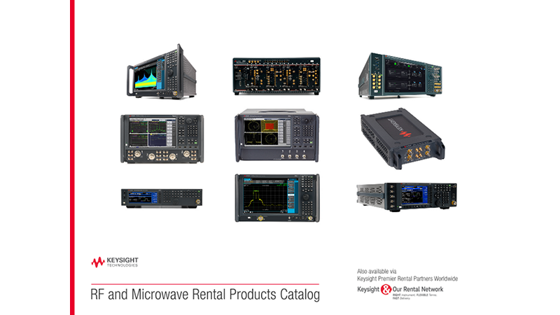 RF and Microwave Rental Products Catalog