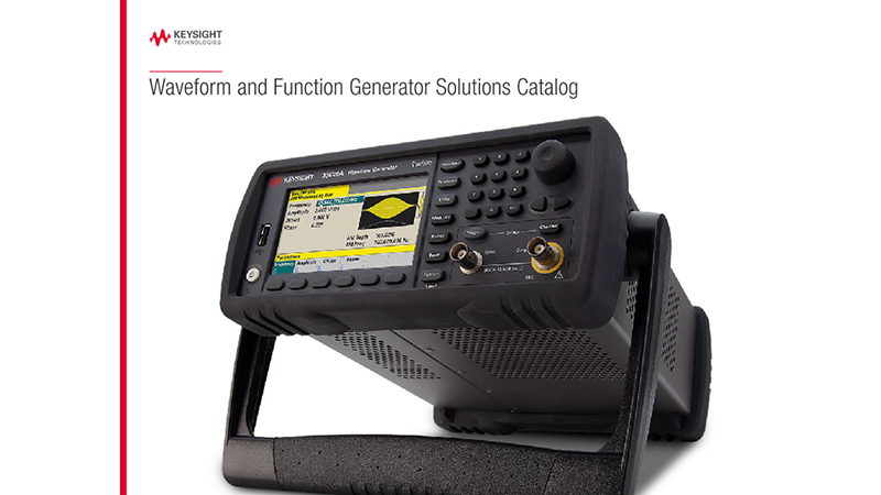 Waveform and Function Generator Solutions Catalog