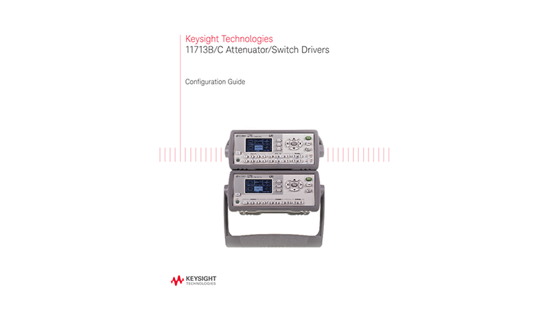 11713B/C Attenuator/Switch Drivers