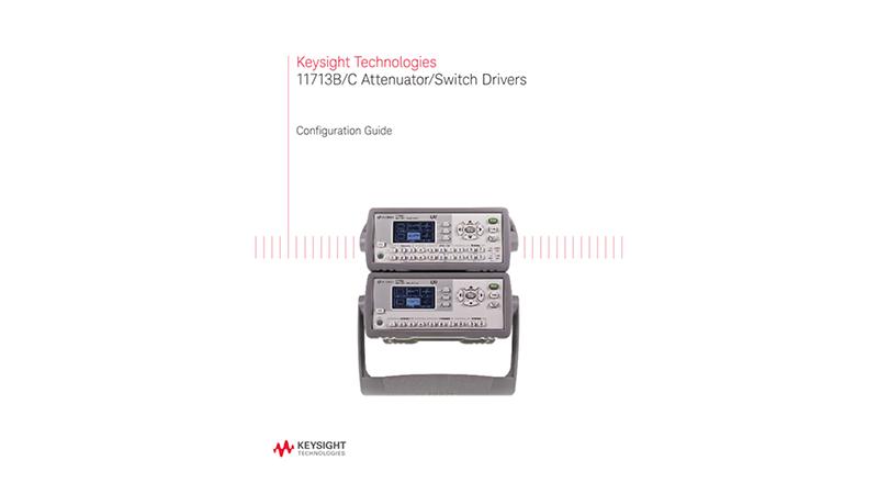 11713B/C Attenuator/Switch Drivers