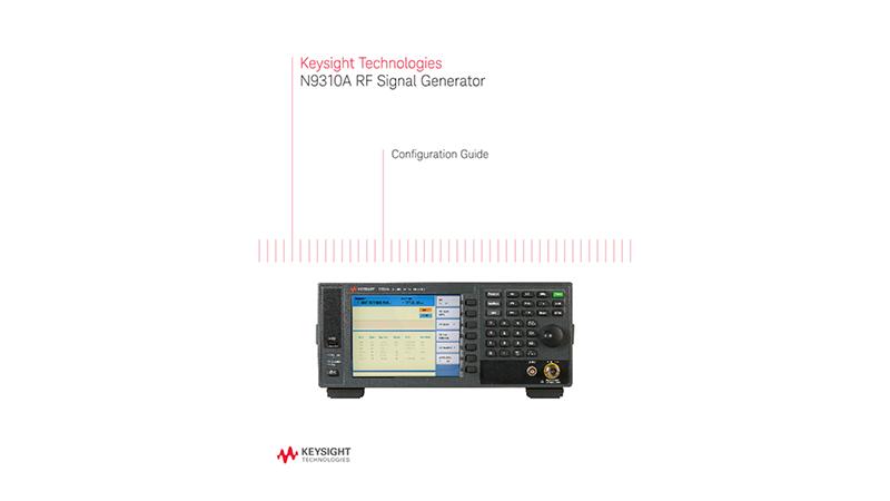 N9310A RF Signal Generator
