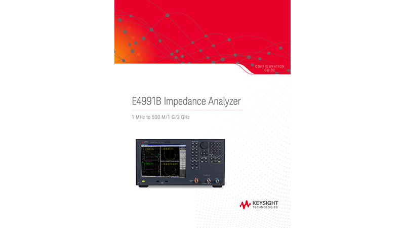 E4991B Impedance Analyzer