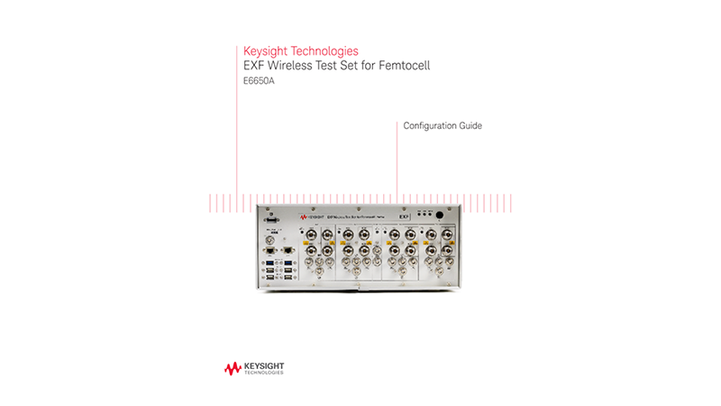 EXF Wireless Test Set for Femtocell