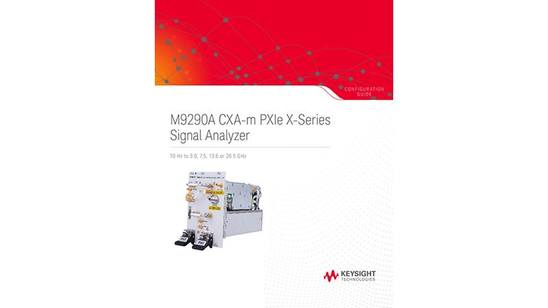 M9290A CXA-m PXIe X-Series Signal Analyzer