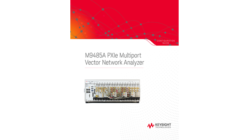 M9485A PXIe Multiport Vector Network Analyzer