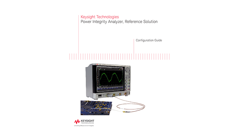 Power Integrity Analyzer, Reference Solution