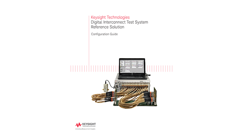 Digital Interconnect Test System Reference Solution