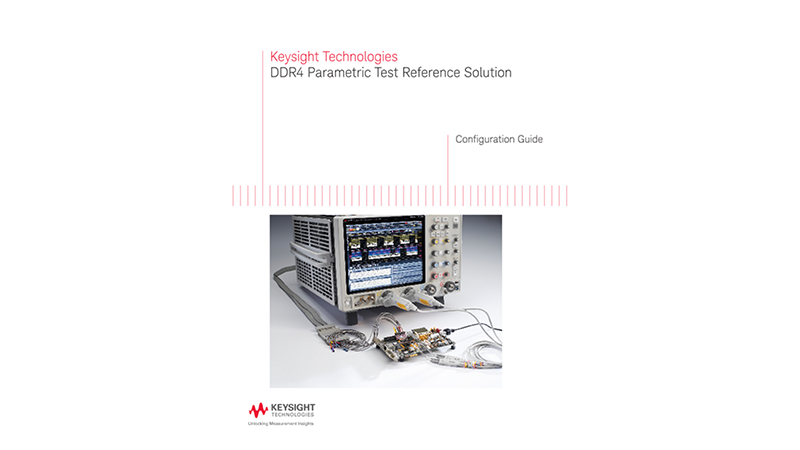 DDR4 Parametric Test Reference Solution