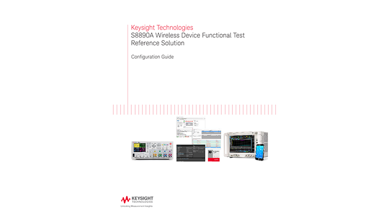 S8890A Wireless Device Functional Test