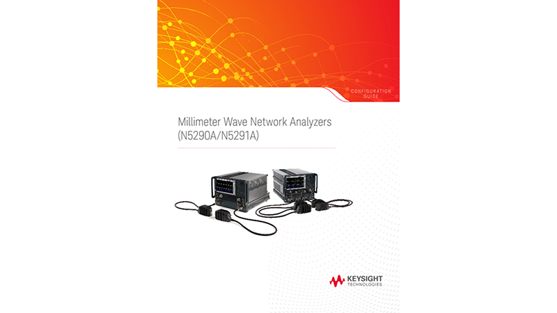 Millimeter Wave Network Analyzers (N5290A/N5291A)